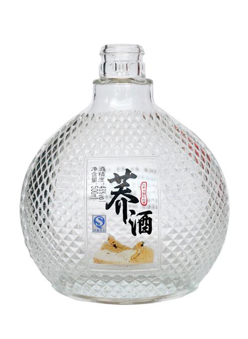烤花高档玻璃瓶