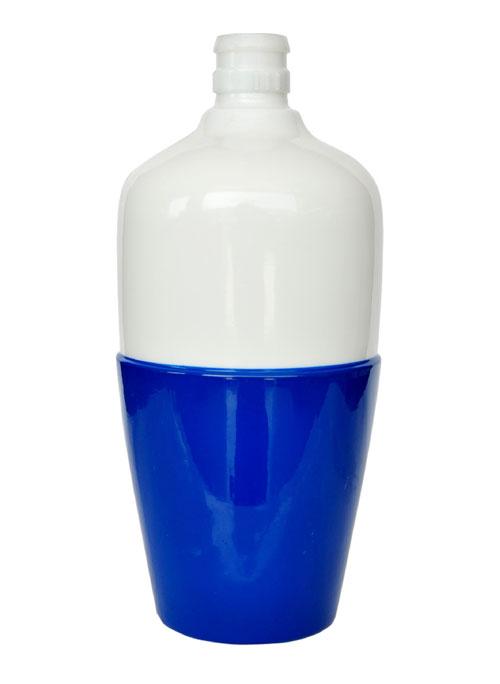 乳白玻璃酒瓶