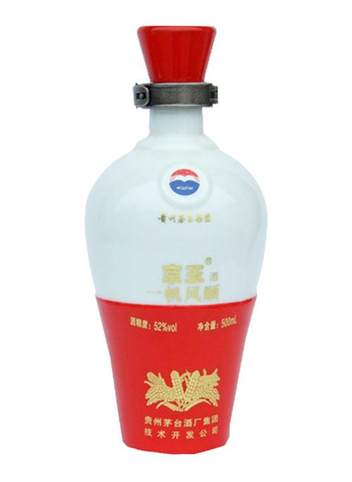 茅台乳白玻璃酒瓶