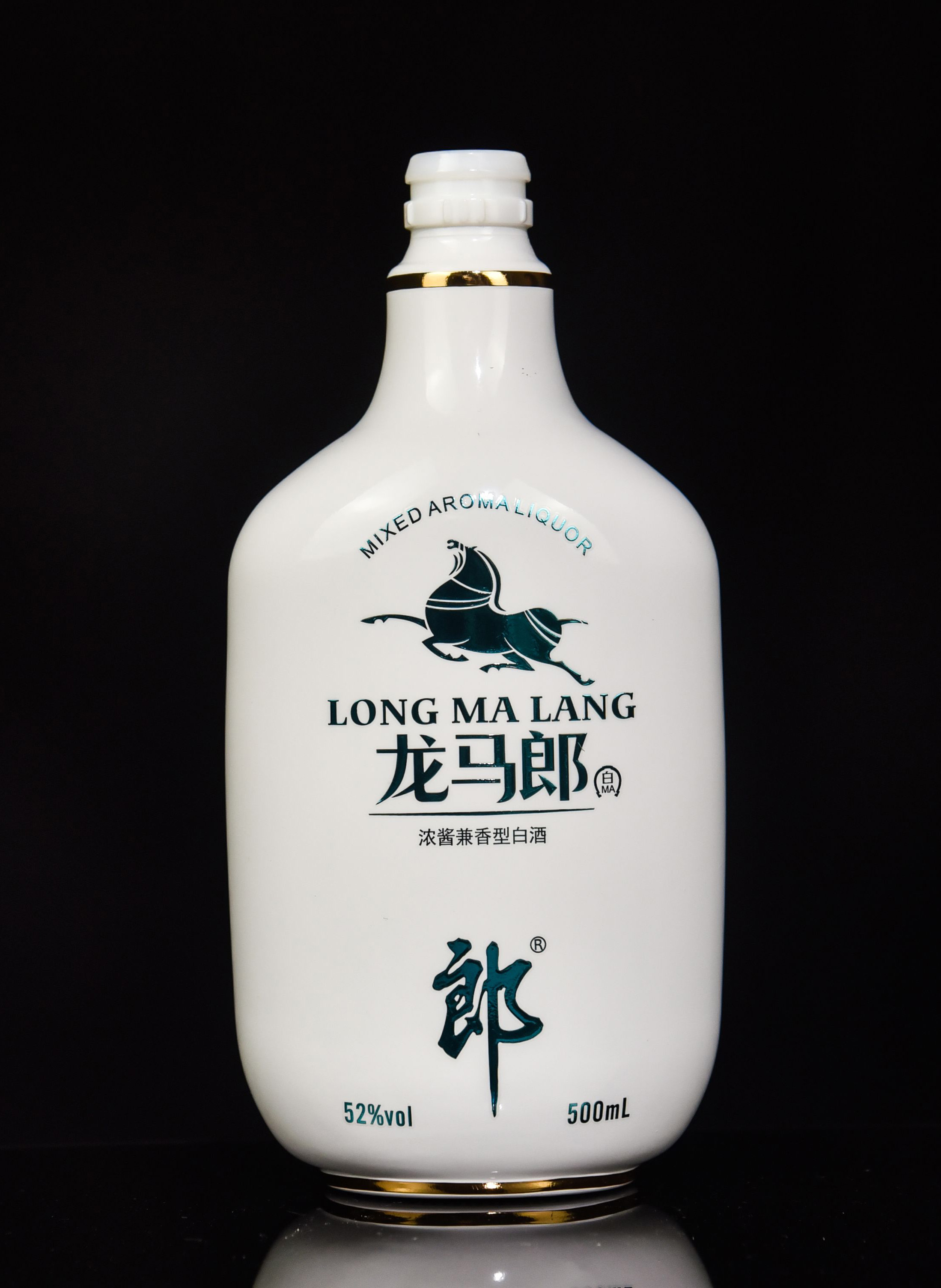 龙马郎酒瓶