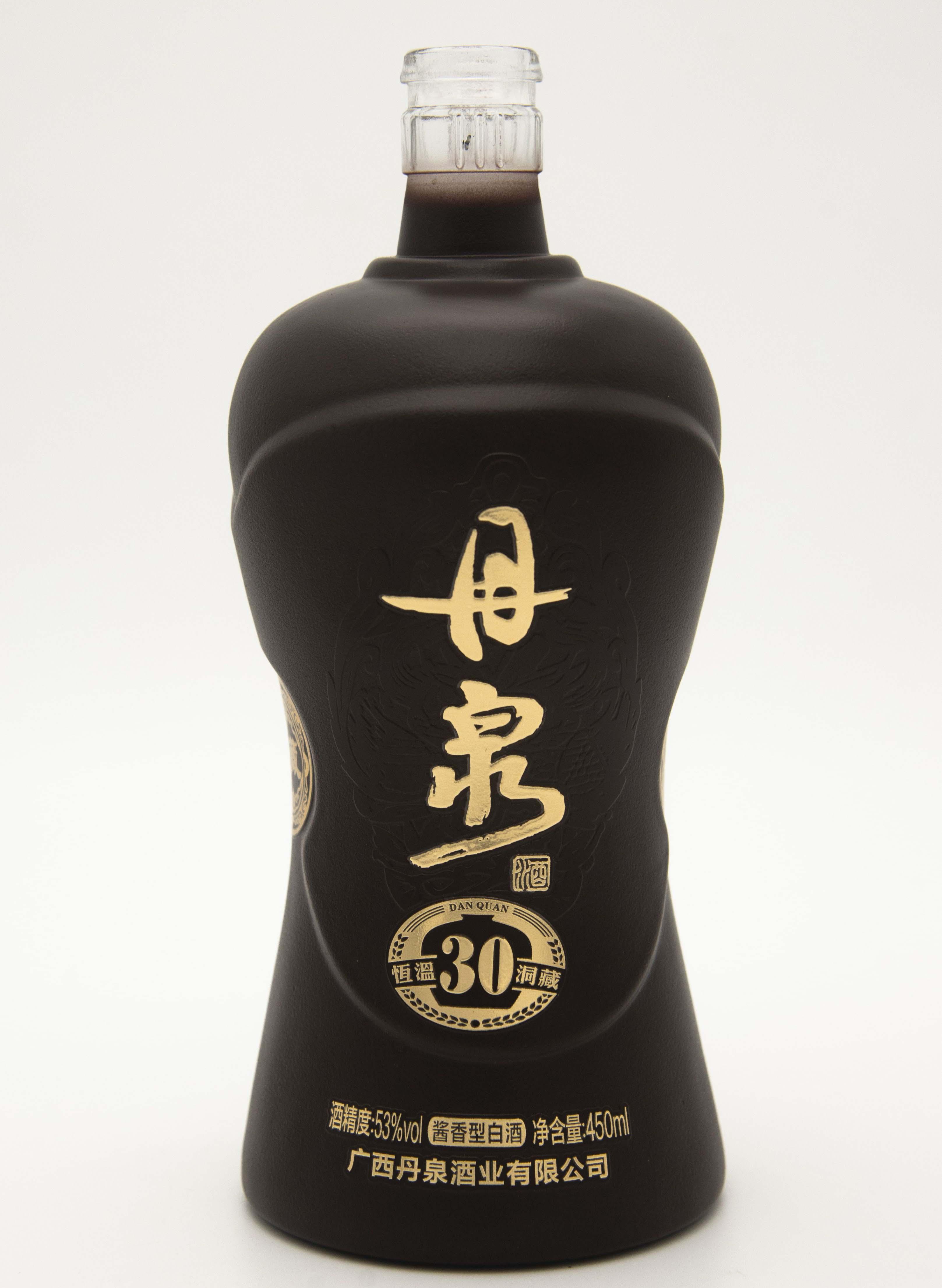 丹泉30酒瓶