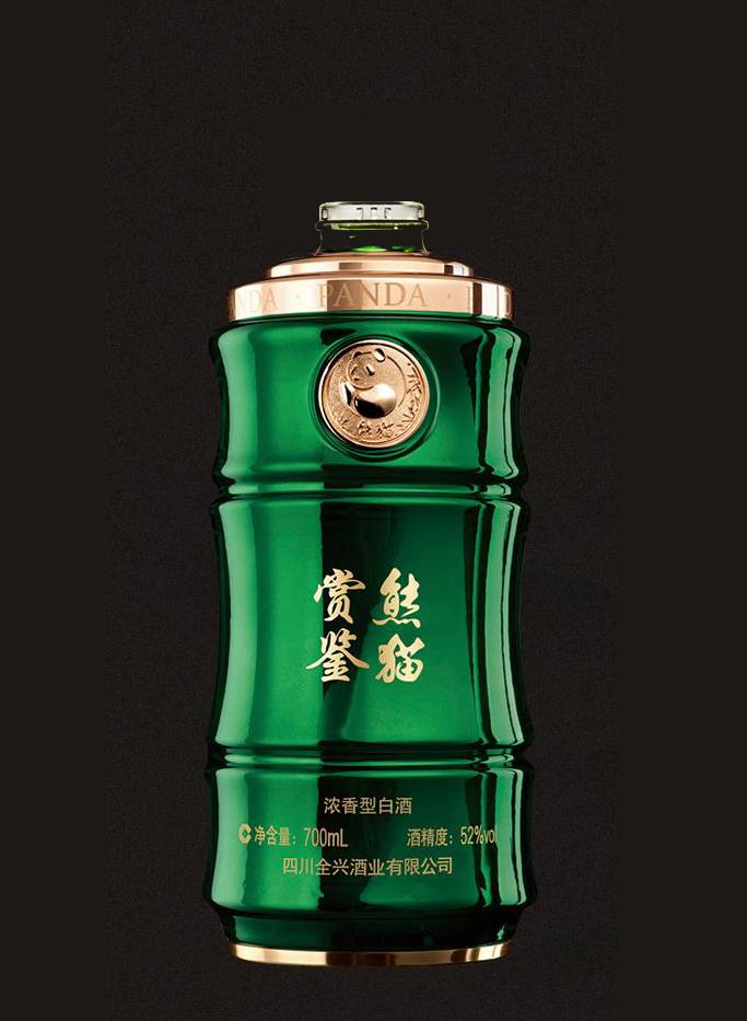 全兴熊猫鉴赏瓶