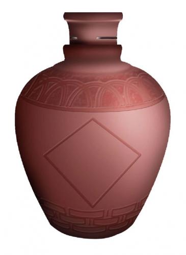 精细陶瓷酒瓶