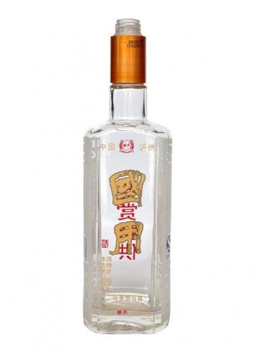 晶白烤花玻璃酒瓶