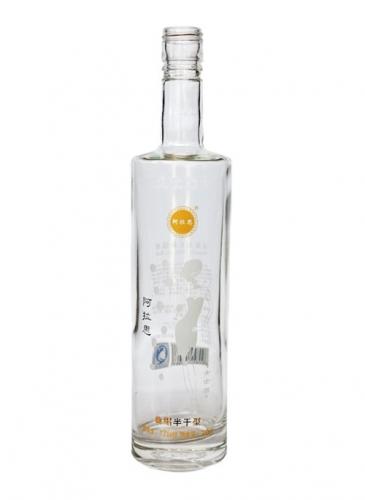 烤花高端玻璃酒瓶